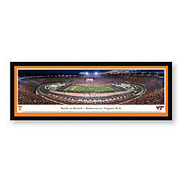 Blakeway Panoramas 2016 Battle at Bristol Print with Select Frame