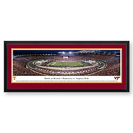 Blakeway Panoramas Battle at Bristol Print with Deluxe Frame