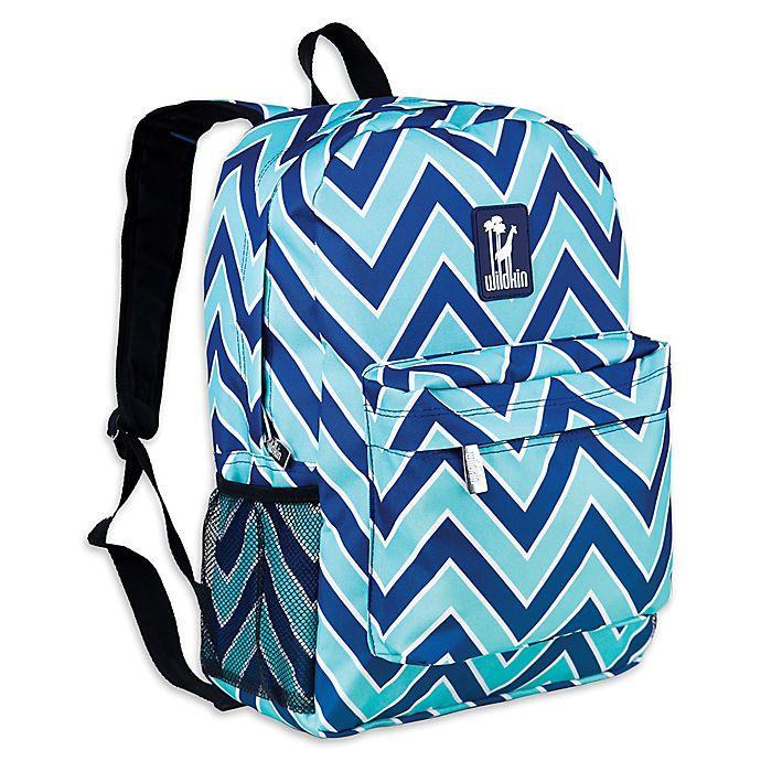 Alternate image 1 for Wildkin Zigzag Lucite Crackerjack Backpack in Blue