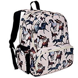 Wildkin Horse Dreams Megapak Backpack in Tan