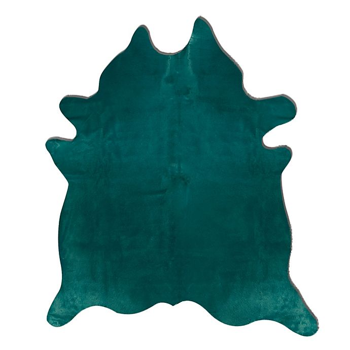 Alternate image 1 for bel amore® Geneva Cowhide 6' x 7' Handcrafted Area Rug