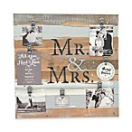 Sweet Bird & Co.  Mr. & Mrs.  22-Inch x 22-Inch 7-Clip Picture Frame