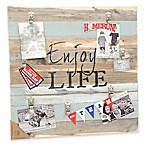 Sweet Bird & Co.  Enjoy Life  22-Inch x 22-Inch 7-Clip Picture Frame
