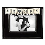 Grasslands Road™  Mr. & Mrs.  4-Inch x 6-Inch Picture Frame