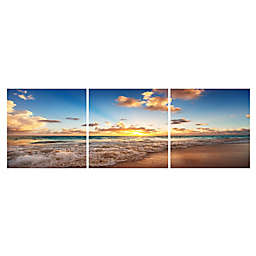 Elementem Photography 3-Panel 20-Inch x 20-Inch Photographic Wall Art of Blue Skies Ahead