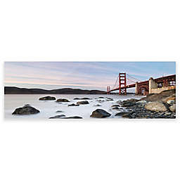 Elementem Photography 20-Inch x 60-Inch Photographic Wall Art of Golden Gate Laze