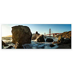 Elementem Photography 20-Inch x 60-Inch Photographic Wall Art of Golden Gate Day View