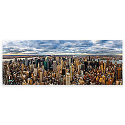 Elementem Photography 20-Inch x 60-Inch Photographic Wall Art of NYC View