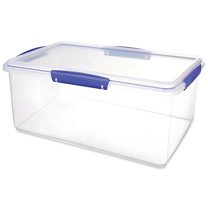 Sistema 174 Klip It 9 6 Liter Food Storage Container In