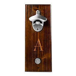Cathy's Concepts Rustic Wall Mount Bottle Opener in Brown