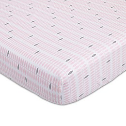 Petunia Pickle Bottom® Dreaming in Dax Fitted Crib Sheet in Pink