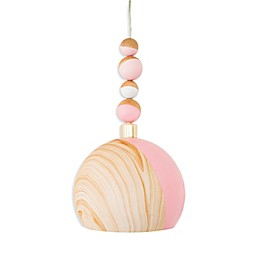 Petunia Pickle Bottom® Dreaming in Dax 1-Light Pendant in Rose Gold