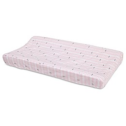 Petunia Pickle Bottom® Dreaming in Dax Changing Pad Cover in Pink/Grey