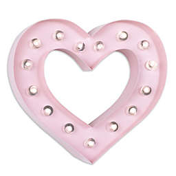 Nautica Kids® Heart Marquee Light in Pink
