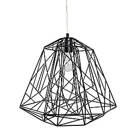 Varaluz® The Wright Stuff 1-Light Pendant in Black