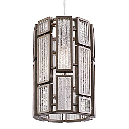 Varaluz® Hemingway 1-Light Ceiling Pendant Light in Bronze