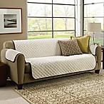 CouchCoat™ Furniture Cover in Brown/Cream