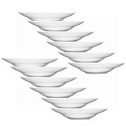 Fortessa® Accentz Wide Rim Bowls in White (Set of 12)