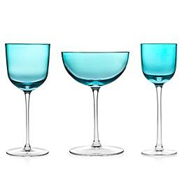 Godinger Rondo Sea Blue Wine & Bar Collection