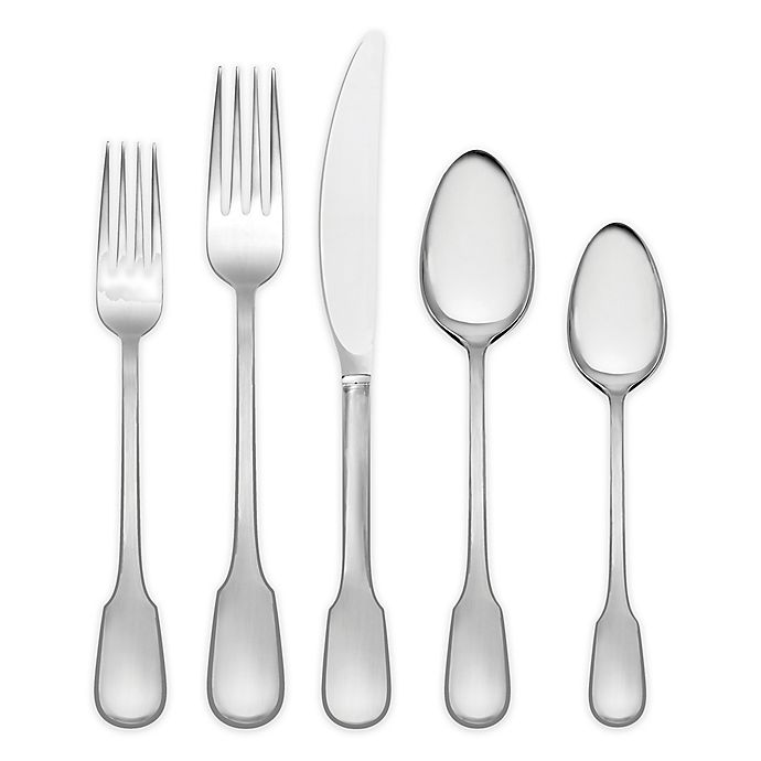 Alternate image 1 for Vera Wang Wedgwood® Vera Surrey 5-Piece Flatware Place Setting