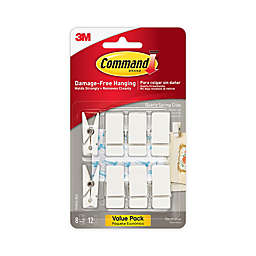 3M Command™ Spring Clips (Set of 8)