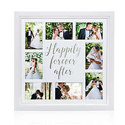 8fd8d0cbf07 Pearhead® Happily Ever After 8-Photo Collage Frame in White