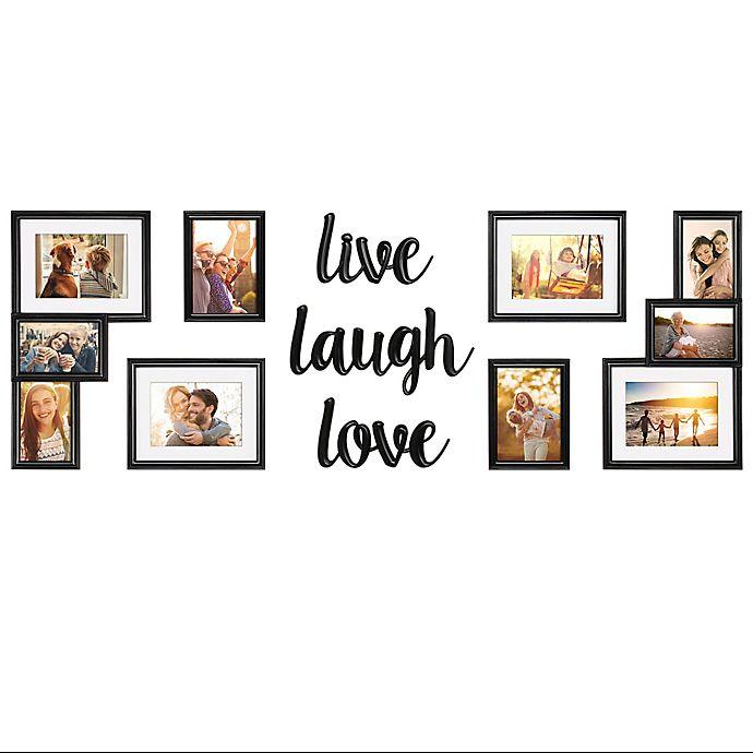 Wallverbs 9 Piece Live Love Laugh Photo Frame Set Bed Bath Beyond