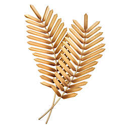 Artisan House Golden Palms Metal Wall Art