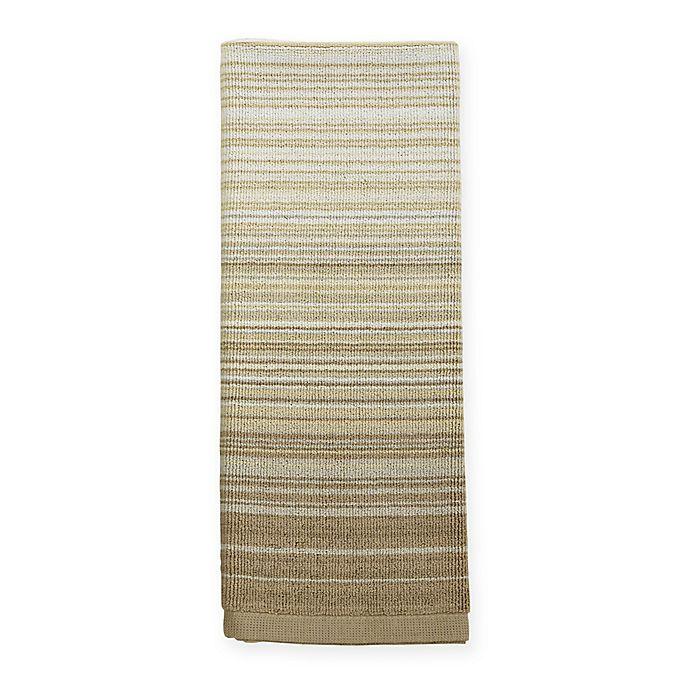 Alternate image 1 for ED Ellen DeGeneres™ Shiburi Stripe Dual Purpose Kitchen Towel in Khaki