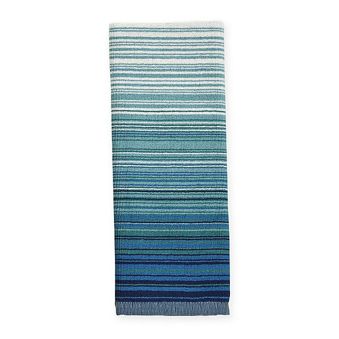 Alternate image 1 for ED Ellen DeGeneres™ Shiburi Stripe Dual Purpose Kitchen Towel in Blue