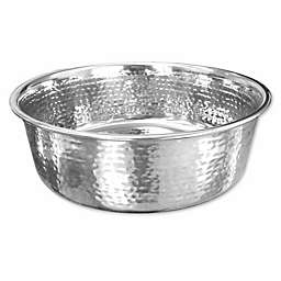 Neater Pet Brands® 16 oz. Hammered Stainless Steel Bowl in Silver