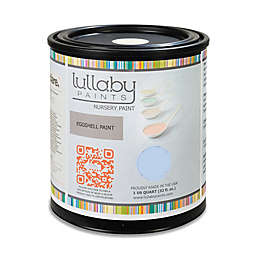 Lullaby Paints Baby Nursery Wall Paint Sample in Baby Boy Blue Eggshell Finish