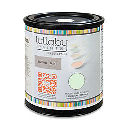 Lullaby Paints Baby Nursery Wall Paint Sample in Icy Mint Eggshell Finish