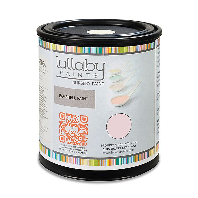 Alternate image 1 for Lullaby Paints Wall Paint 1/2 Gallon in Softest Pink Semi-Gloss Finish