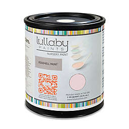 Lullaby Paints Baby Nursery Wall Paint Sample in Softest Pink Eggshell Finish