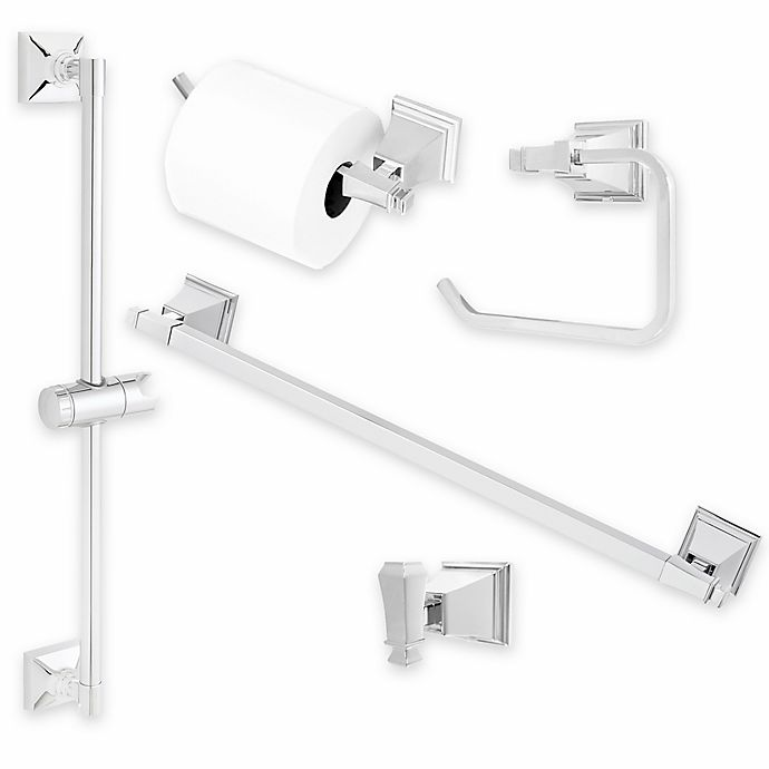 Alternate image 1 for Rainier™ Bath Hardware Collection in Polished Chrome