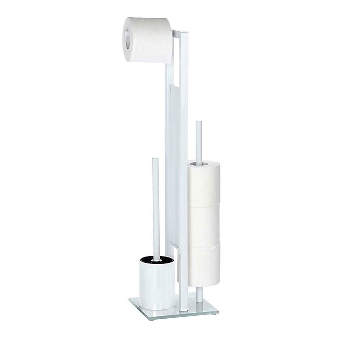 Alternate image 1 for Wenko Rivalta Free Standing Toilet Brush