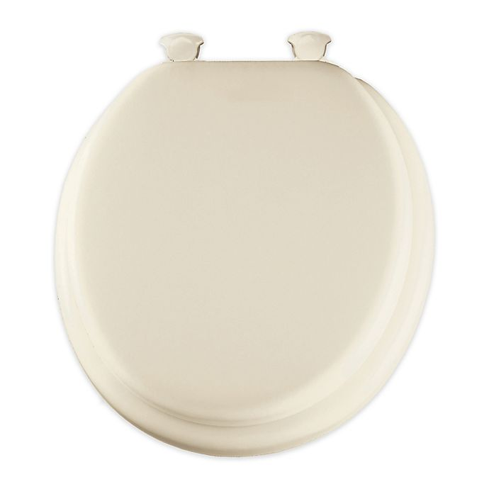Buy Round Padded Toilet Seat With Easy Clean Hinge In