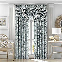 J. Queen New York™ Sicily Waterfall Window Valance in Teal