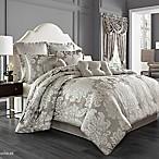 J. Queen New York™ Chandelier Queen Comforter Set in Silver