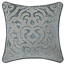 J. Queen New York™ Sicily Square Throw Pillow in Teal