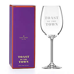 kate spade new york Toast of the Town™ Wine Glass