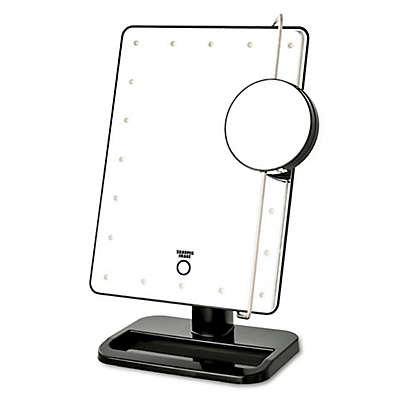 Sharper Image® LED Touch Mirror with Vanity Tray