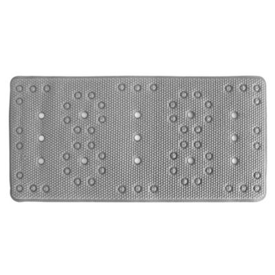 Deluxe Softee Bath Mat In Grey by Bed Bath And Beyond