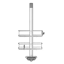 simplehuman® Over-the-Door Shower Caddy in Stainless Steel