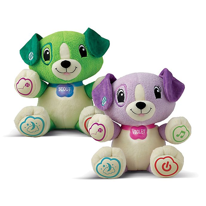 Alternate image 1 for LeapFrog® My Pal Scout or My Pal Violet Personalized Plush Learning Toys
