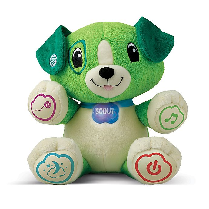 Alternate image 1 for LeapFrog® My Pal Scout Personalized Plush Learning Toy