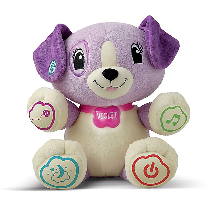Alternate image 1 for LeapFrog® My Pal Violet Personalized Plush Learning Toy