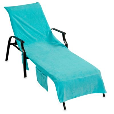 Ultimate Chaise Lounge Cover Turquoise Bed Bath Amp Beyond