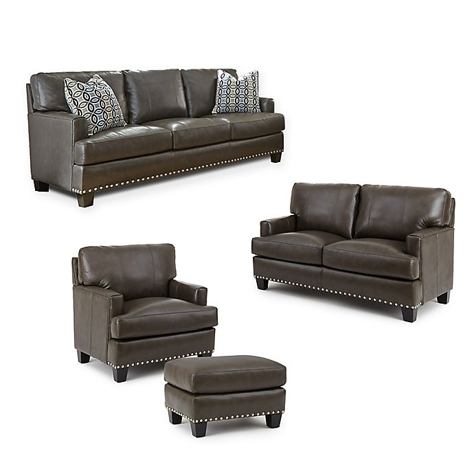 Steve Silver Co Patrese Leather Furniture Collection Bed Bath